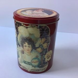 Coca Cola Storage Tin